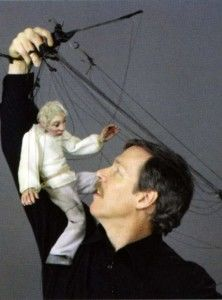 Master puppeteer, Joe Cashore, seen here with one of his renowned Cashore Marionettes, will discuss and demonstrate how he makes marionettes come to life in amazingly realistic manner, at Meet the Puppeteer. This workshop will be held at the H. Lee White Museum & Maritime Center on Thursday, September 5th, 7pm