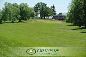 Course and Club House at Greenview Country Club