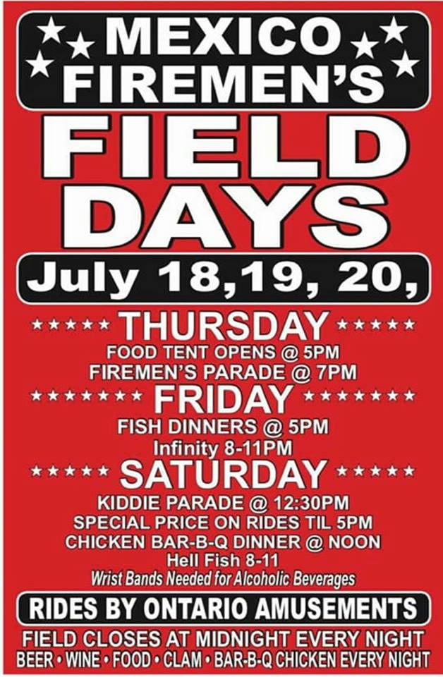 Mexico Field Days poster