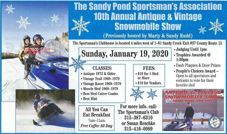 Snowmobile Show Flyer